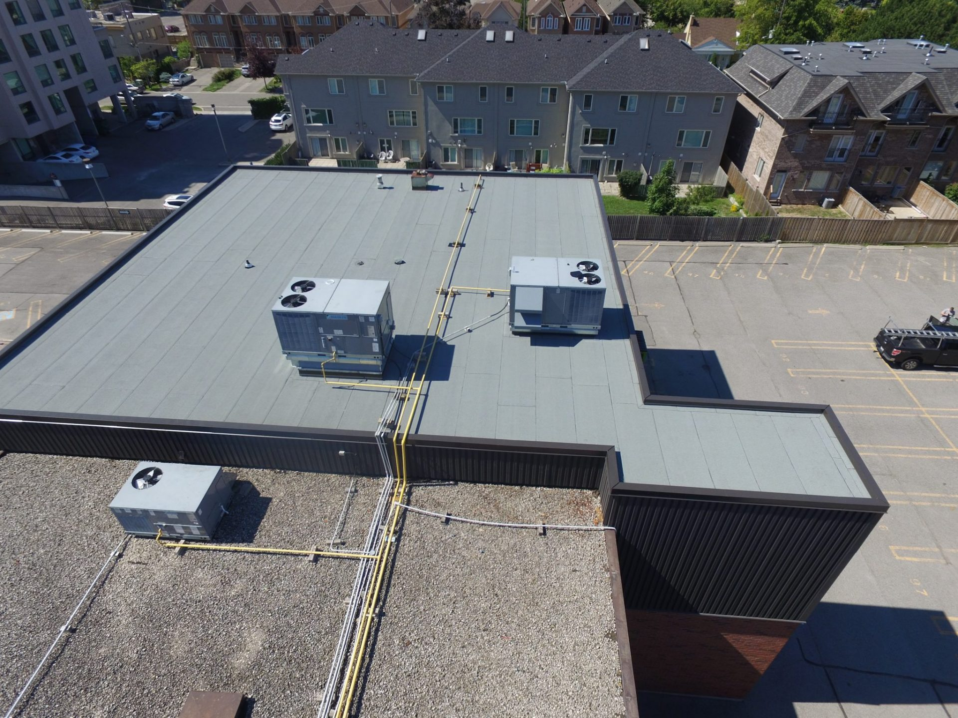 Image result for flat roofs toronto